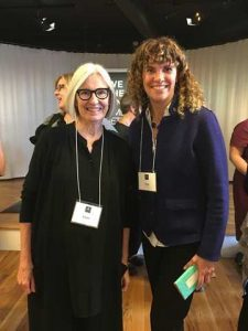 Eileen Fisher and Tricia Dunlap at B Corp Womens CEO 2018