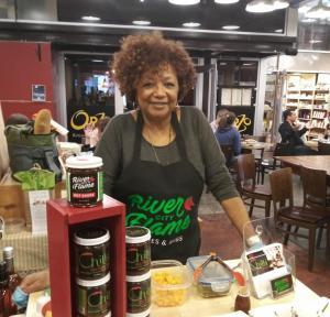 Trademark service recipient, Paula Horne, founder of River City Flame Sauces & Rubs, Richmond VA
