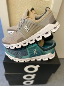 On Running Shoes donated from Shood for healthcare professionals