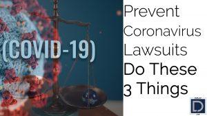 Prevent Coronavirus Lawsuits