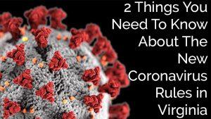 Coronavirus rules in Virginia
