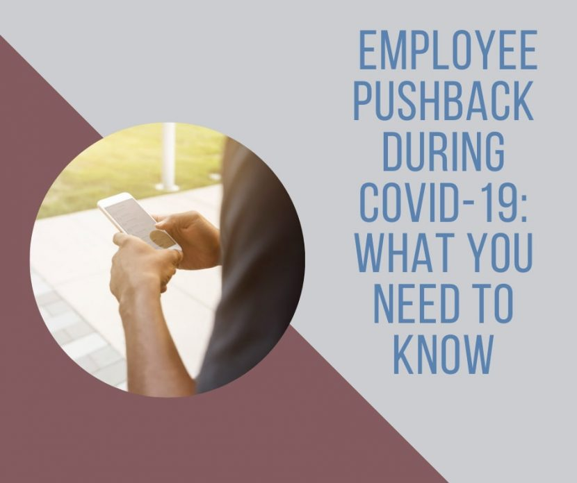 Tips for workplace safety and dealing with employee pushback cover
