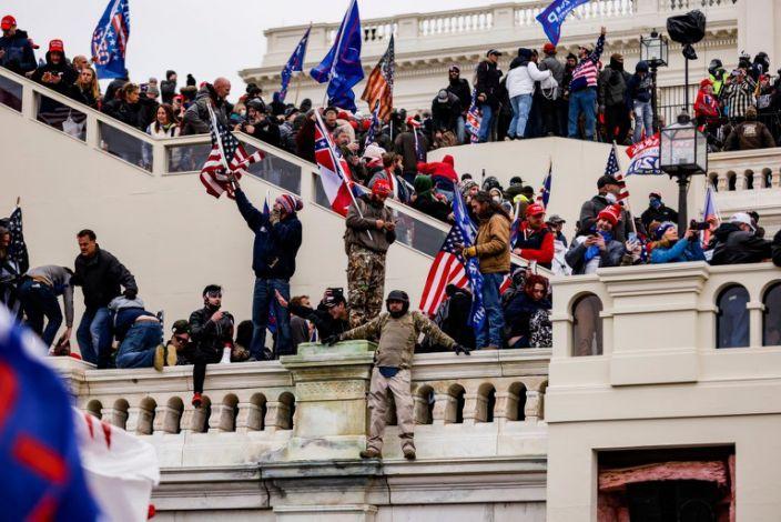 Trump Riots At Capitol